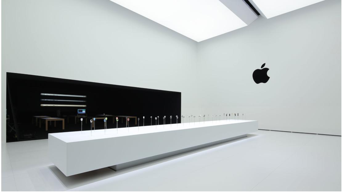 Что в белом ящике: выставочный зал Apple