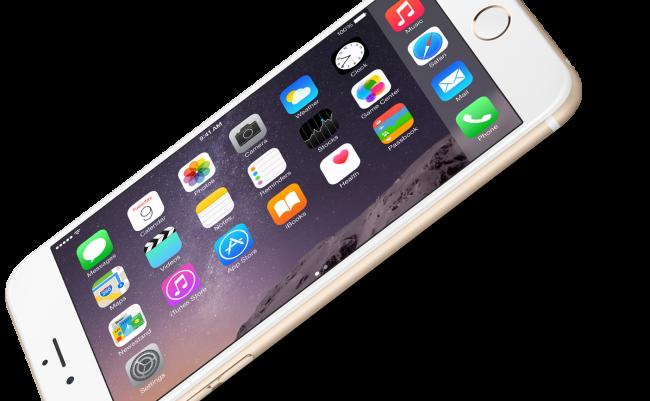 История стандартной заставки на iPhone 6