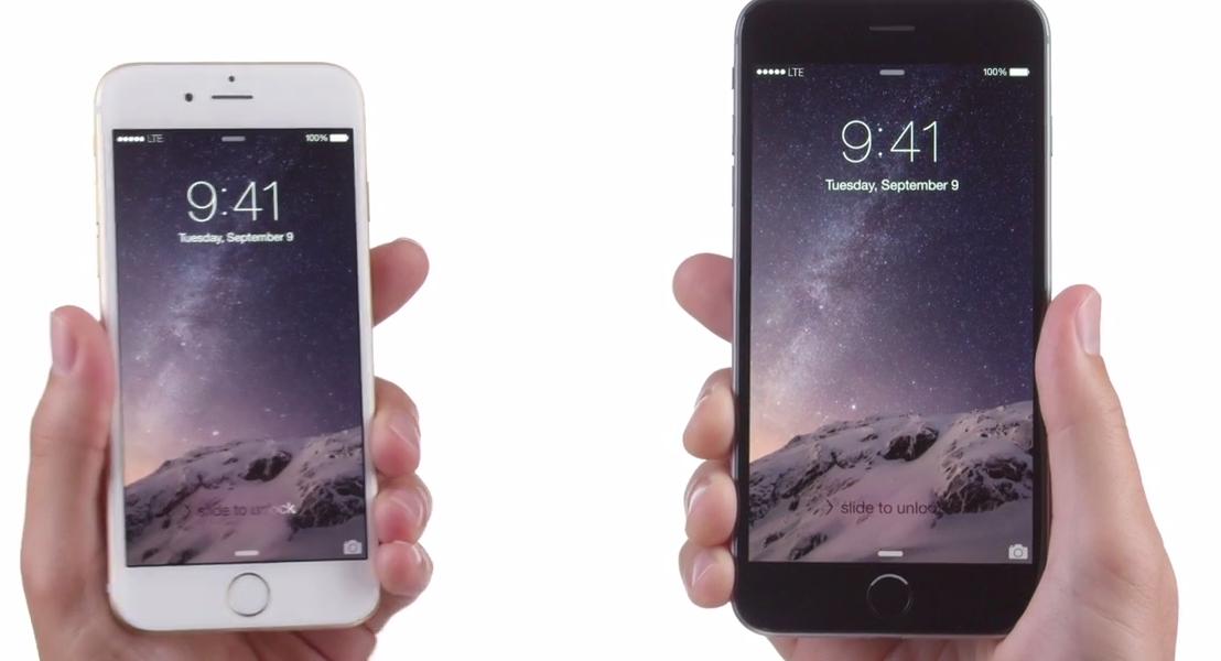 Новые рекламы iPhone 6 и iPhone 6 Plus (видео)