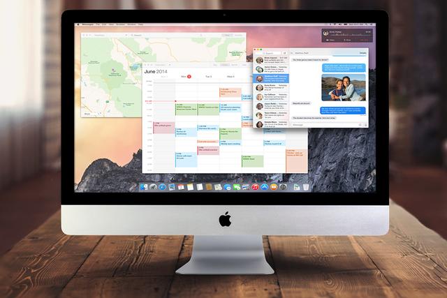 Одновременно с OS X 10.10 выйдет iMac с Retina-дисплеем