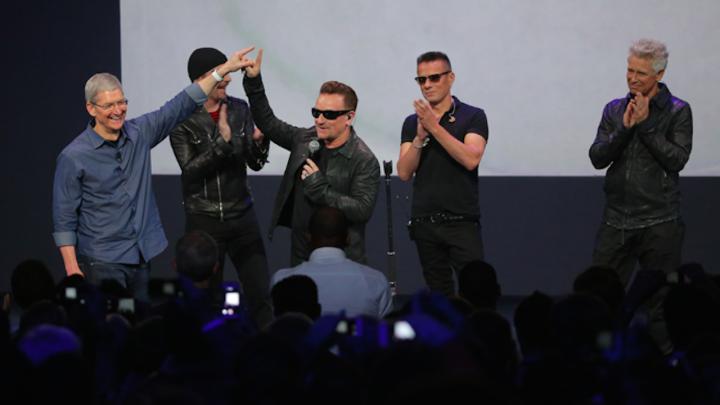 Сотрудничество с U2 стоило Apple $100 млн