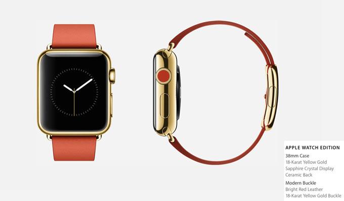 Известна приблизительная цена на золотые Apple Watch