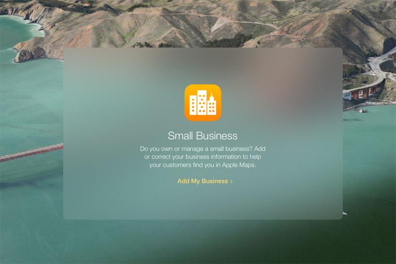 Apple запустила новый сервис — Apple Maps Connect