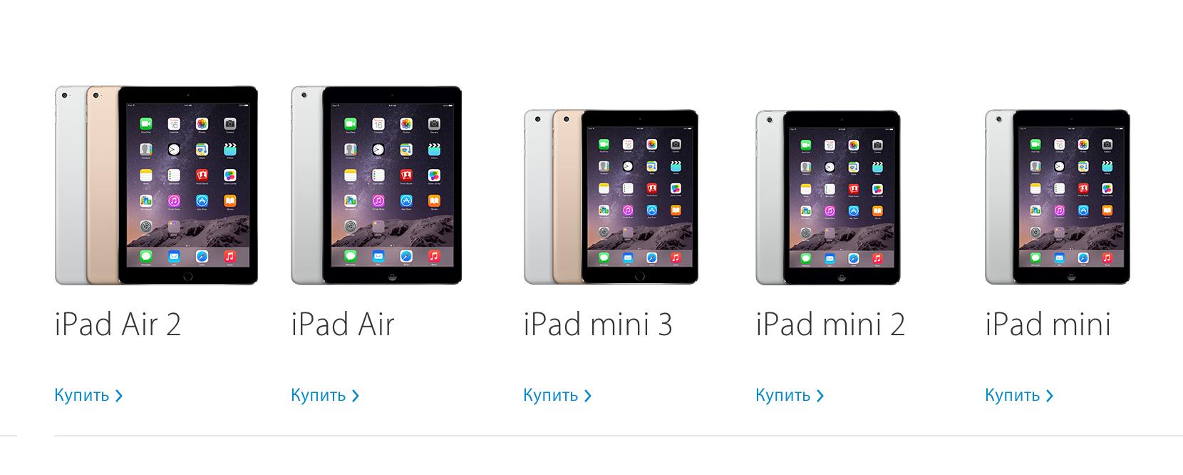 Сейчас самое время купить старые версии iPad