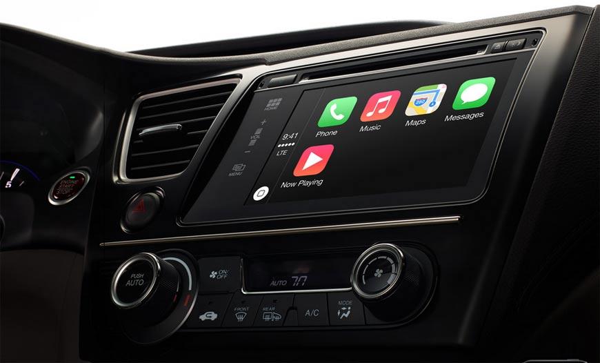 Первые пользователи CarPlay довольный сервисом