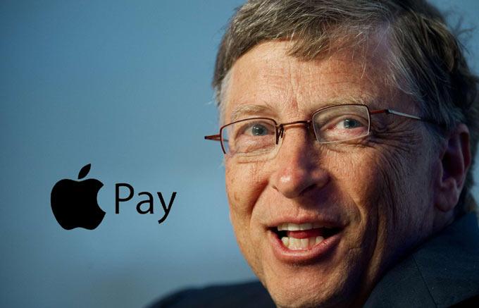 Билл Гейтс оценил Apple Pay