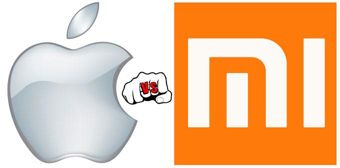 Перепалка между Apple и Xiaomi