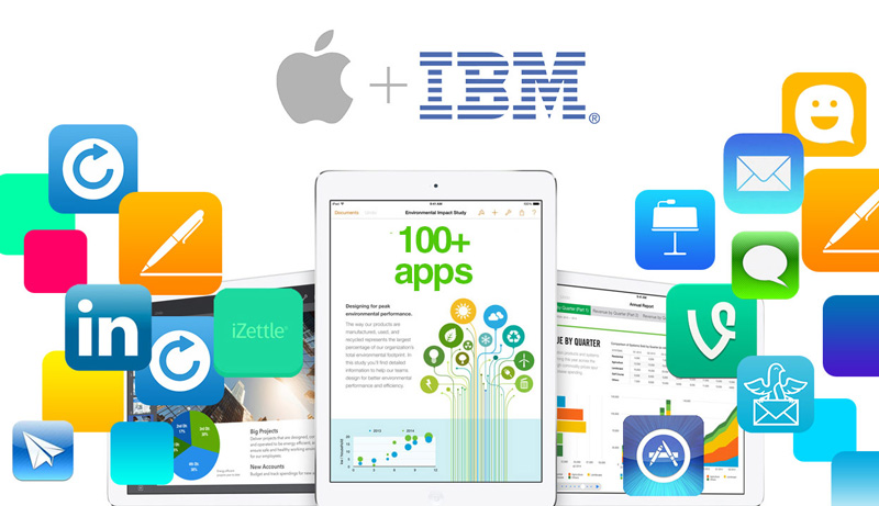 В ноябре Apple покажет результаты сотрудничества с IBM