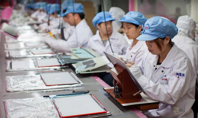 Foxconn хочет делать для Apple экраны