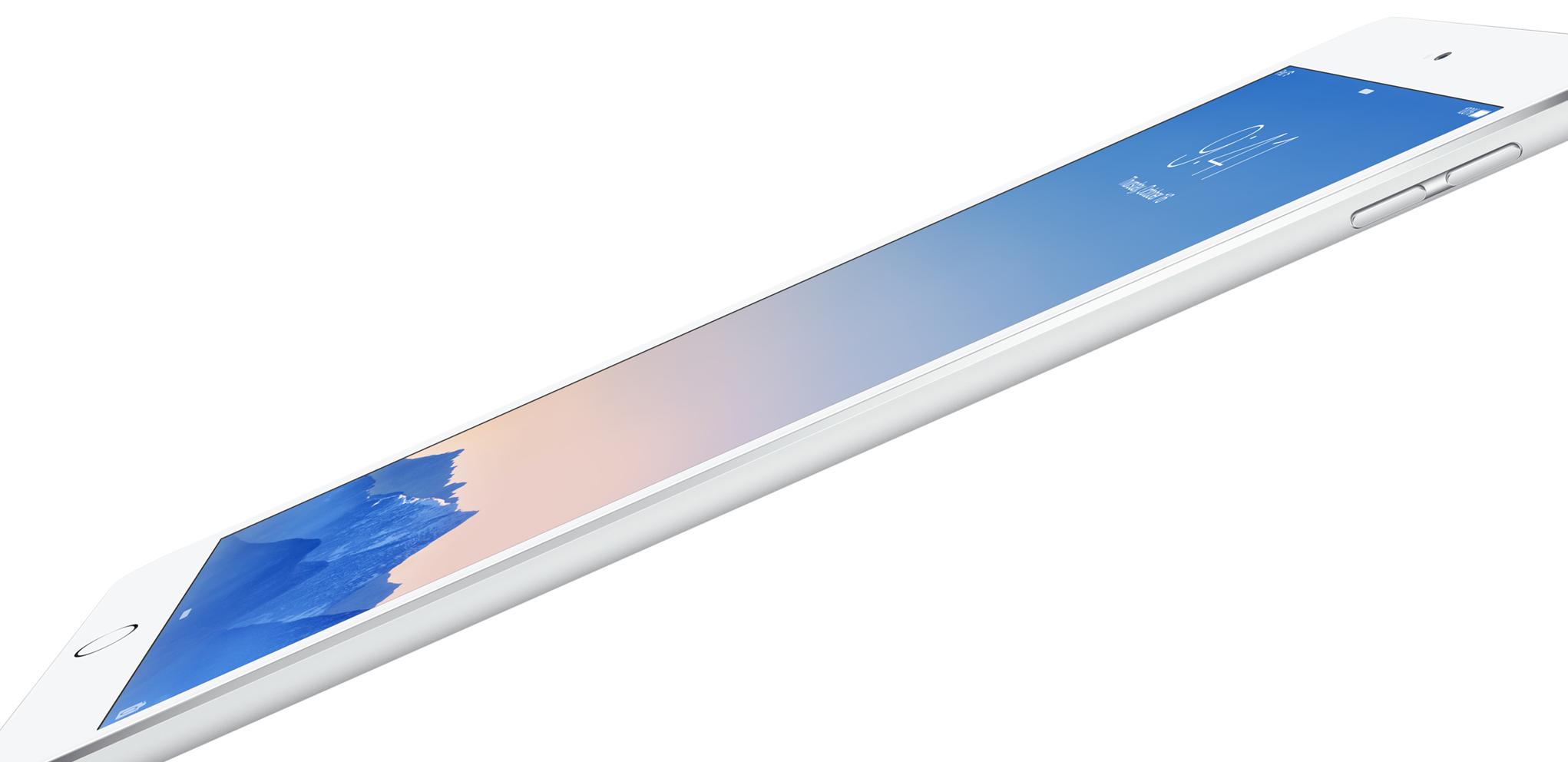 iPad Air 2 — тоньше и быстрее