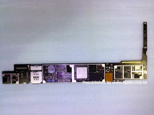 Фото компонентов iPad Air 2