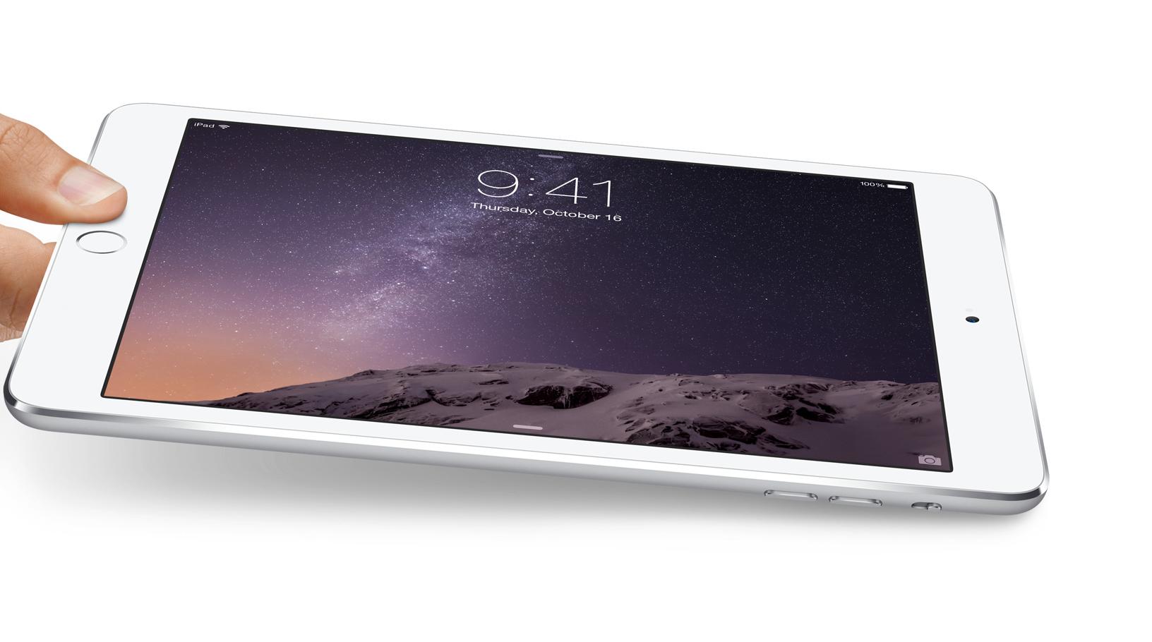 iPad mini 3 — маленькое обновление