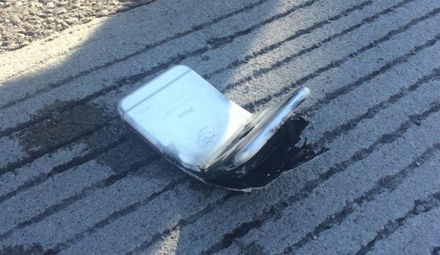 iPhone 6 согнулся и загорелся прямо в кармане владельца