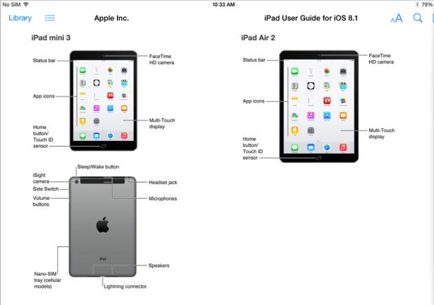 Apple рассекретила iPad Air 2 и iPad mini 3