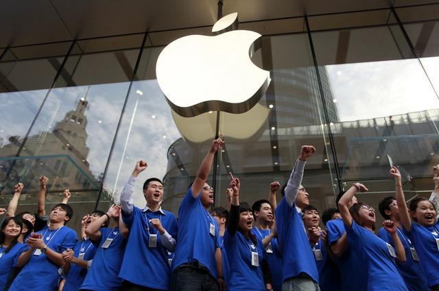 Apple стала популярнее Samsung на рынке Китая