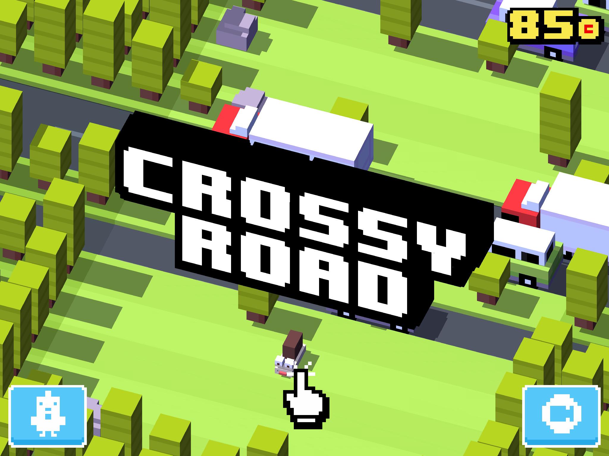 Новая Flappy Bird — игра Crossy Road