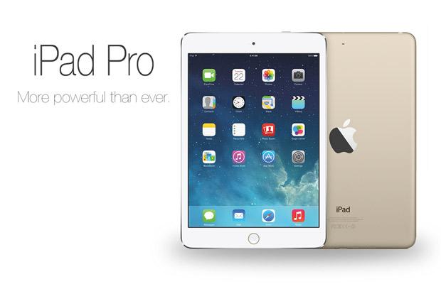 Производство iPad Pro начнётся во втором квартале 2015 года