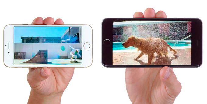 Новые iPhone способны работать с видео 4K