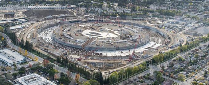 Доступны новые фото Apple Campus 2