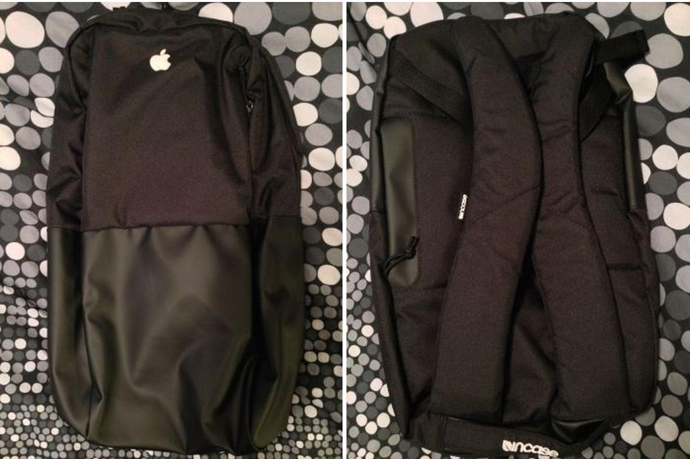 Apple подарила своим сотрудникам рюкзаки