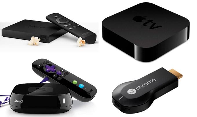 Amazon и Google отбирают долю рынка у Apple TV