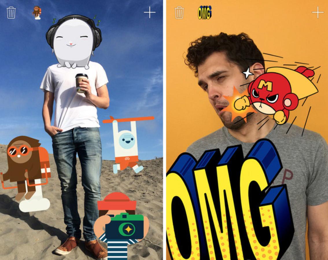Facebook выпустил новое приложение Stickered for Messenger для iOS