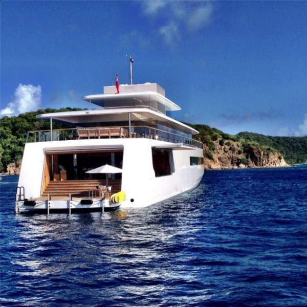 Jobs-yacht