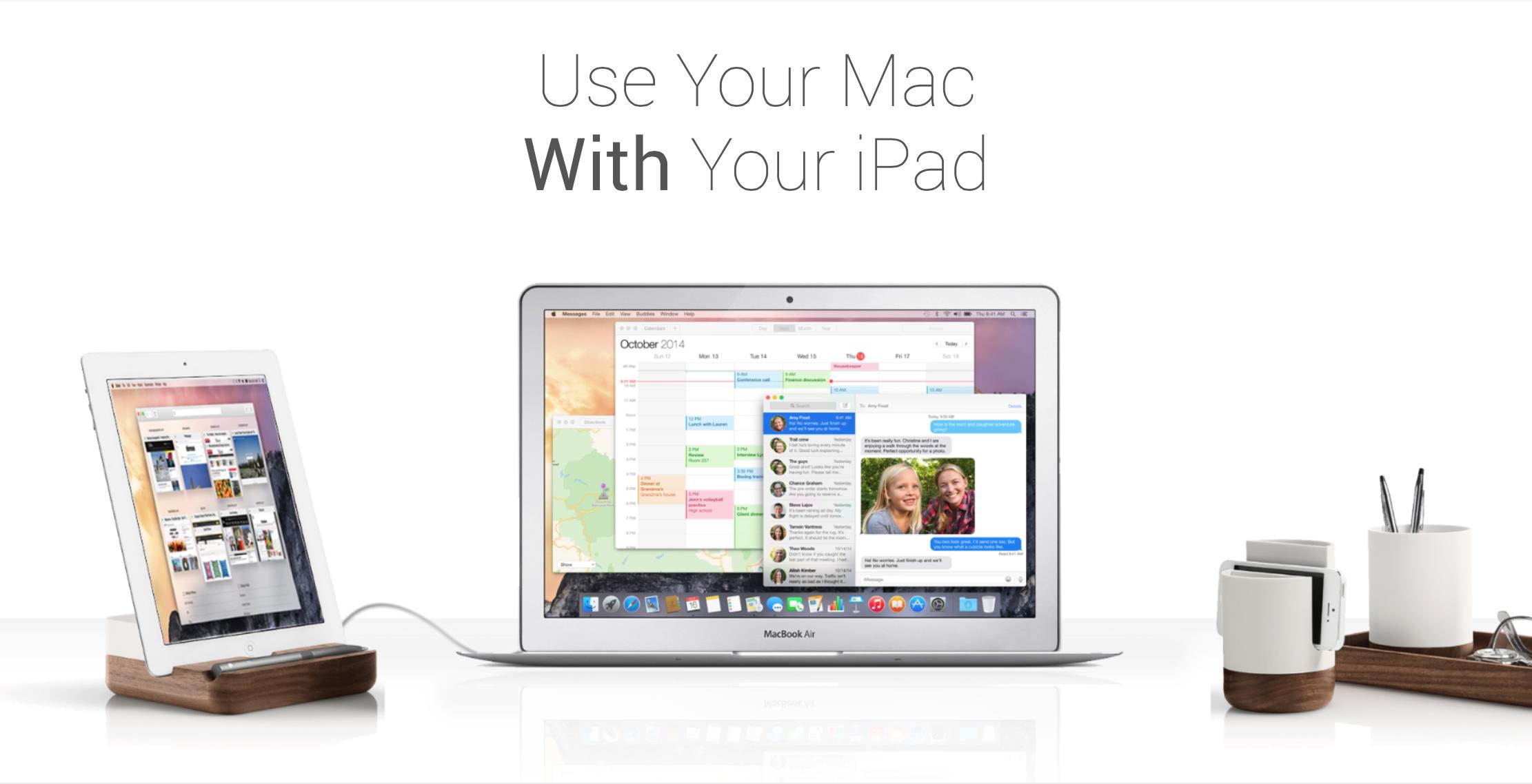 Приложение Duet Display появилось в App Store