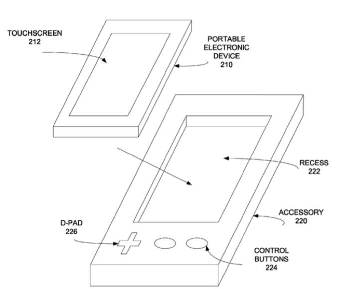 Apple запатентовала игровой контроллер