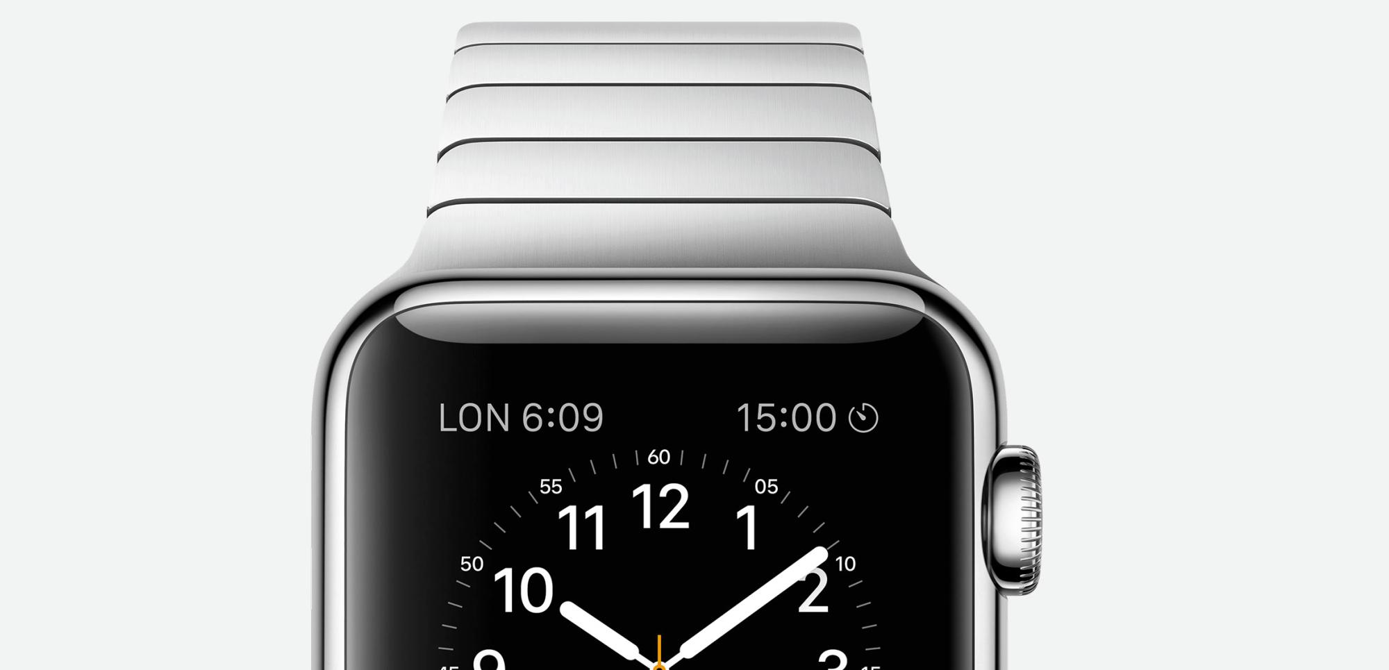 Apple Watch поступят в продажу в апреле