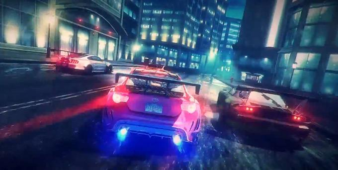 EA представила трейлер NFS No Limits