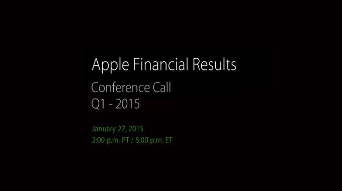 Apple анонсировала дату подведения итогов за квартал