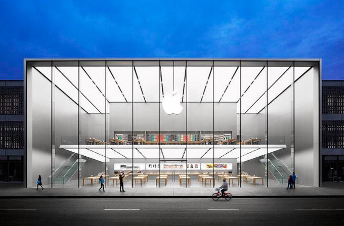 Планы Арендтс: в Китае открыт новый магазин Apple Store