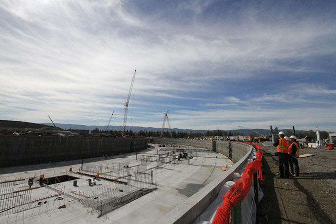 Apple пригласила журналистов на стройплощадку Campus 2