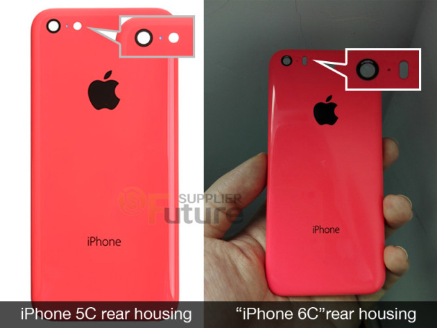 Задняя крышка iPhone 6c на фото