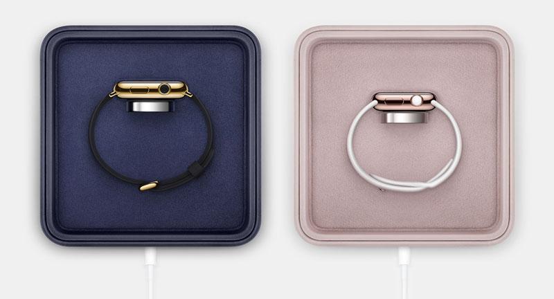 Как продают золотые Apple Watch