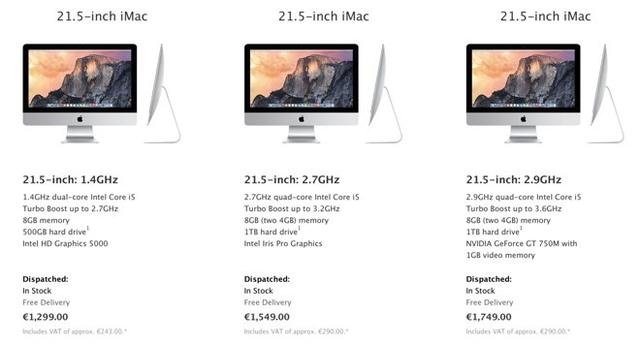 Apple подняла цены на свою продукцию в Канаде и Европе
