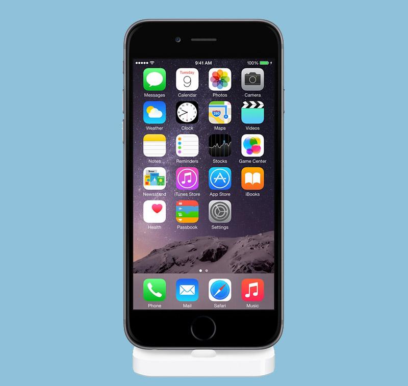 Apple представила док для iPhone