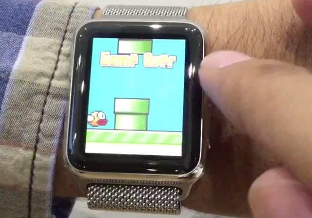 На Apple Watch запустили Canabalt и Flappy Bird