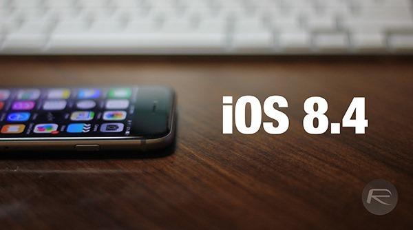 iOS 8.4 выйдет уже во вторник