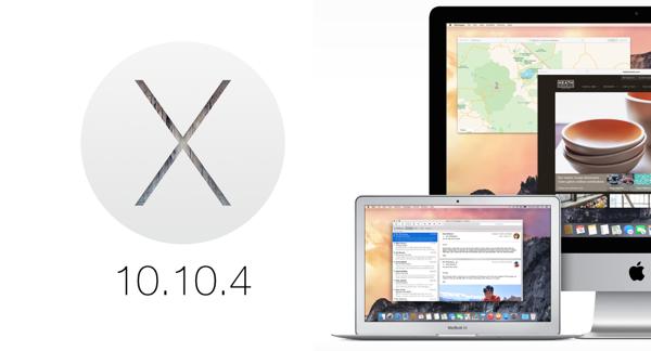 Вышла шестая бета-версия OS X 10.10.4