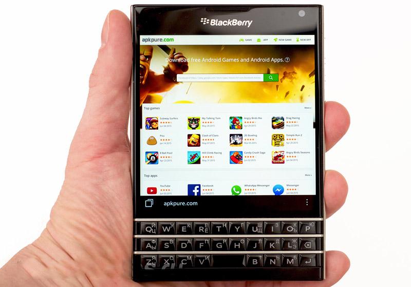 BlackBerry готовит смартфон на Android