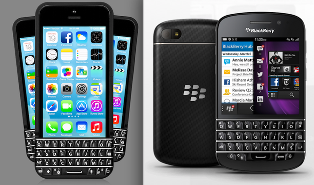 BlackBerry добилась запрета на продажи чехла-клавиатуры Typo для iPhone