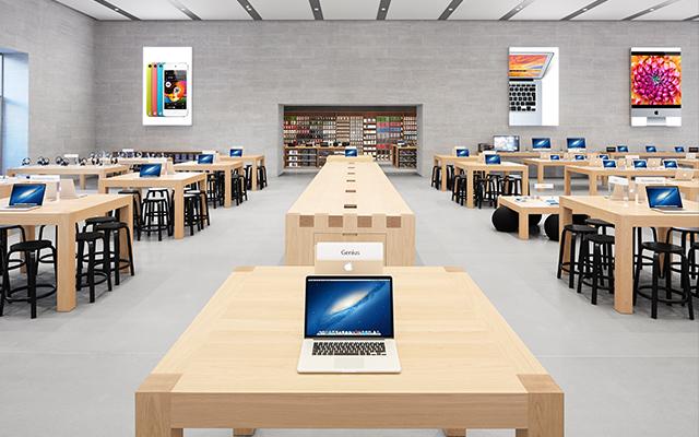 Apple откроет два Apple Store в Бельгии