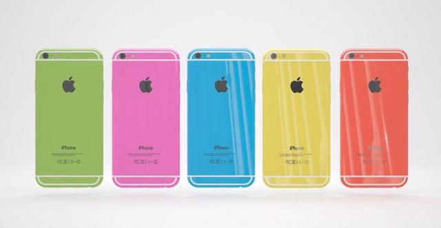 Стильный концепт пластикового iPhone 6c