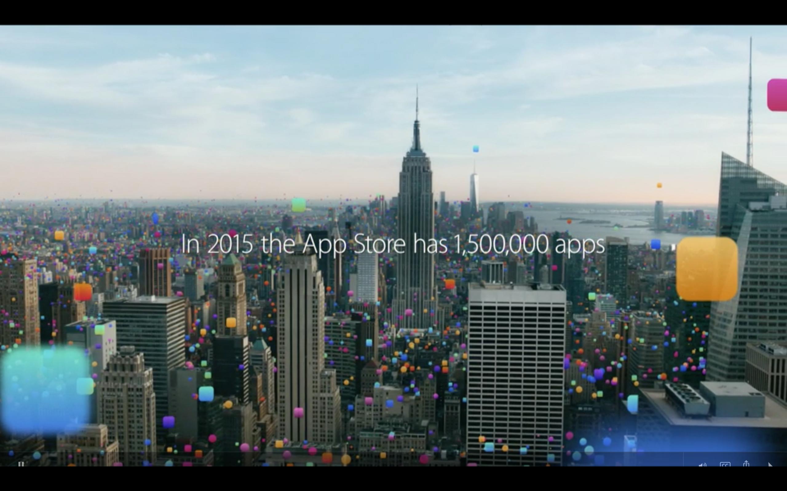 Все видео с WWDC`15
