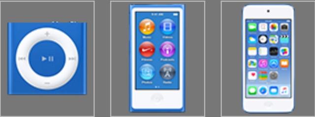 iPod в новых расцветках выйдут 14 июля