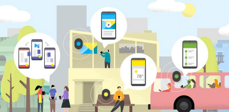 Google представила конкурента для iBeacon