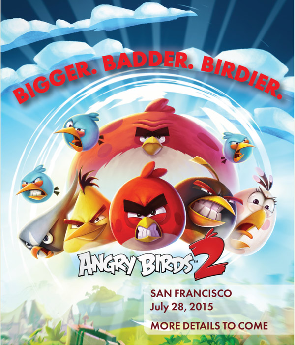 Rovio готовит вторую версию Angry Birds
