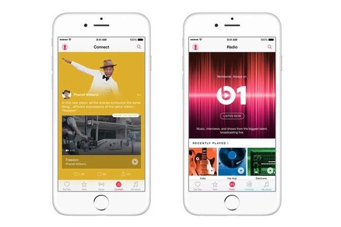 В России начал свою работу Apple Music
